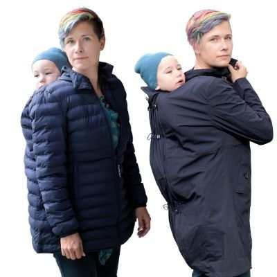 abrigo porteo espalda kowari