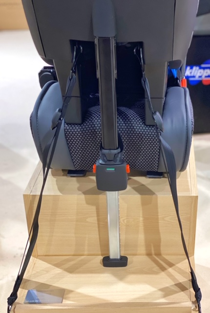 instalación silla avionaut sky con correas lower teether