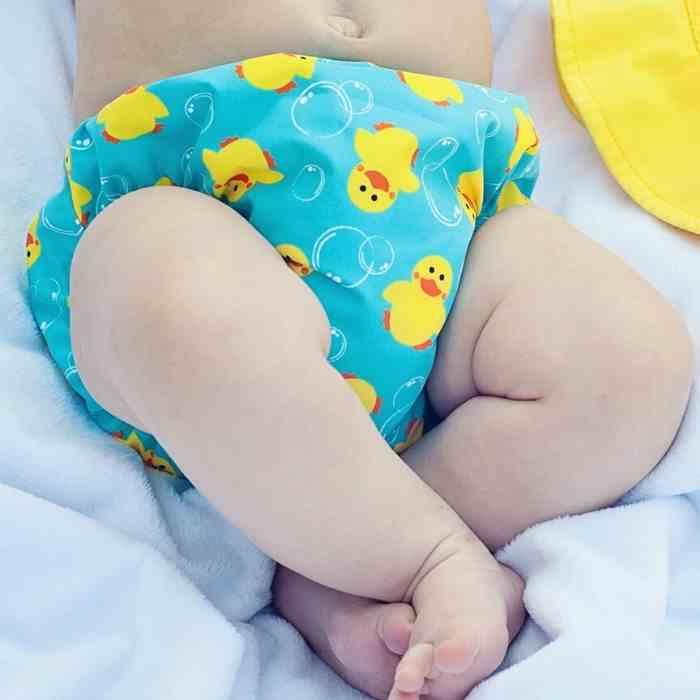 bañador pañal bebe