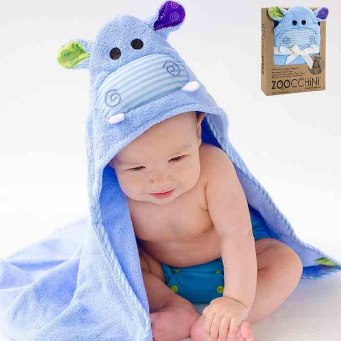 toalla capucha bebe de zoocchini