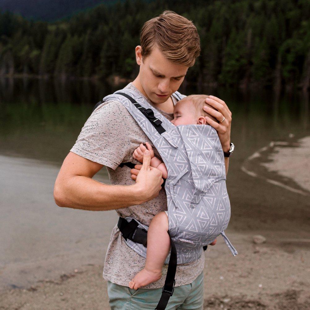 mochila porteo con tejido de fular ideal para portear fresquto