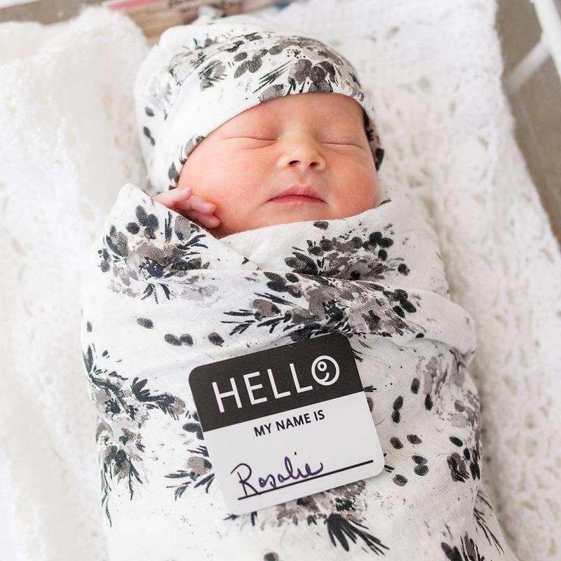 set regalo muselina para bebes de lulujo