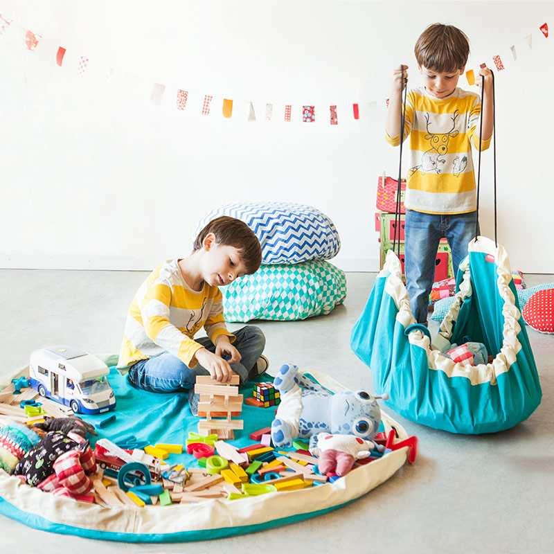 sacos ordenación juguetes play and go