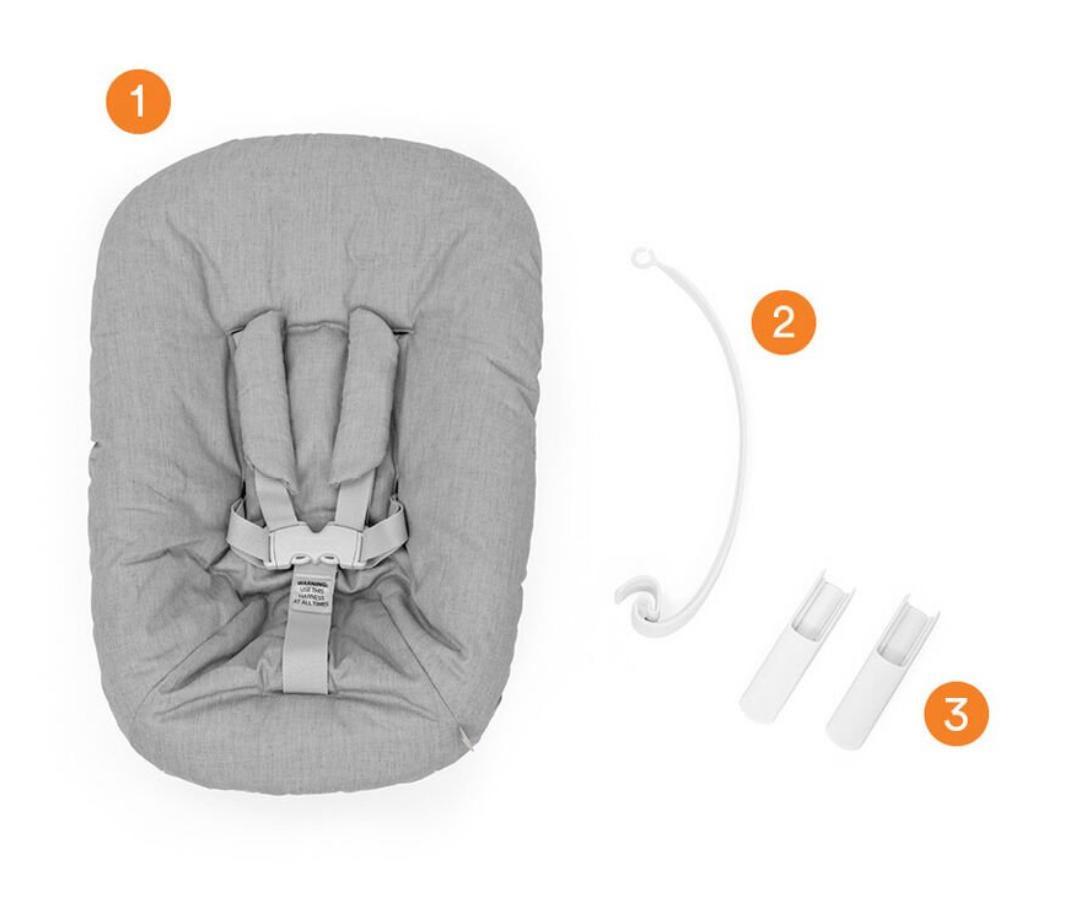 que incluye newborn set stokke