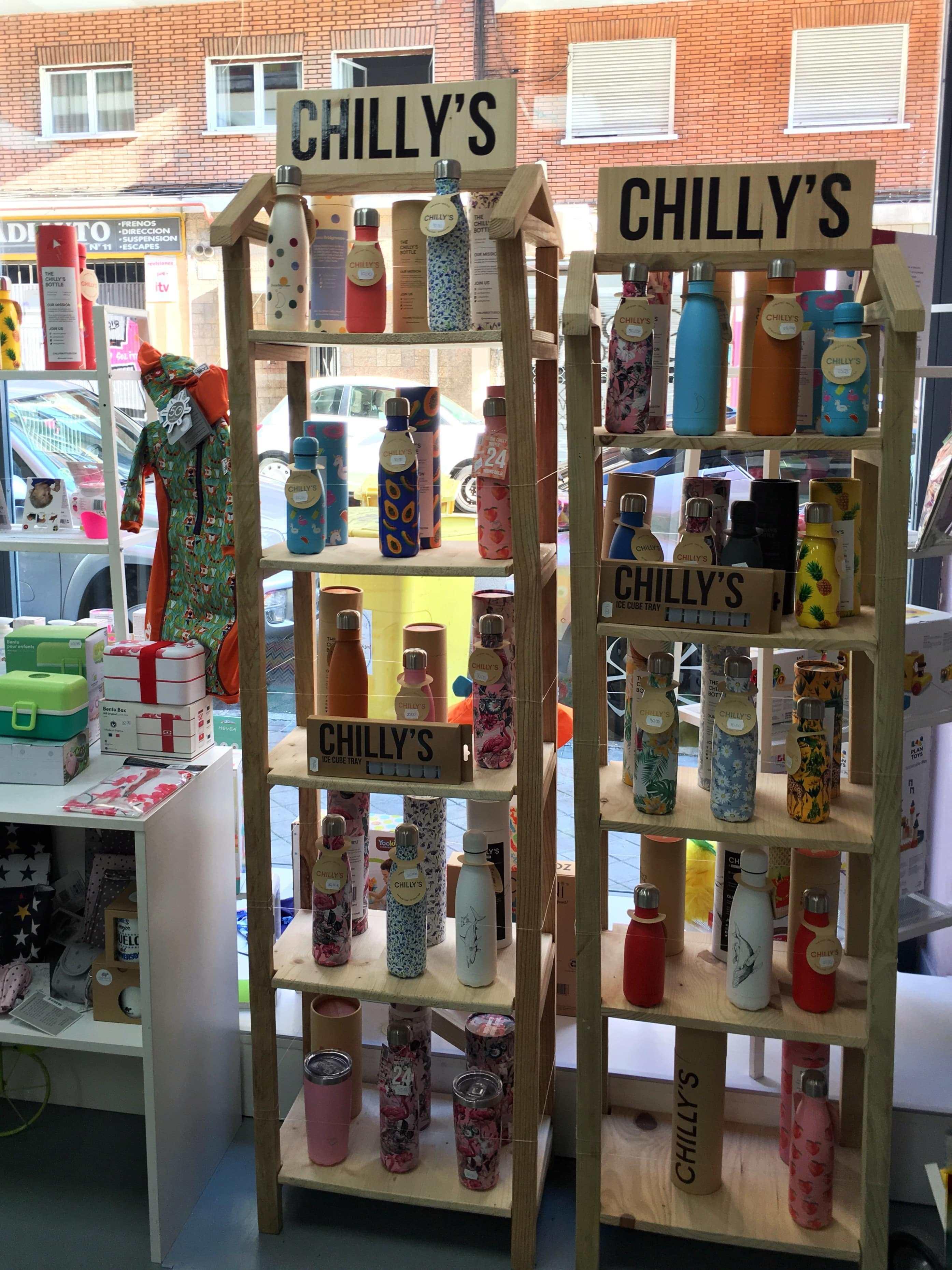 comprar botellas chillys tienda madrid